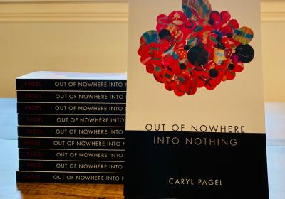 """Out of Nowhere Into Nothing,"" Caryl Pagel's third book, was officially released on Sept. 15."