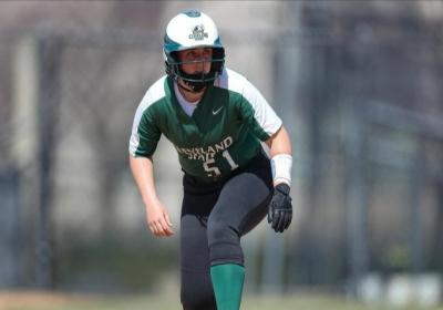Aly Packish smashed a solo shot during Game 2 as the Vikings claimed three runs in the 3rd inning.