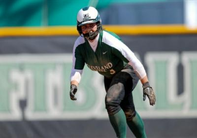 CSU broke YSU's shutout when Junior outfielder Aly Packish was struck by a pitch with the bases loaded to make it 6-1.